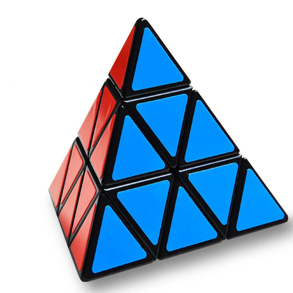 Pyramide Puzzle Magic Twisted grande jouet éducatif cadeau triangle Rubik/'s Cube