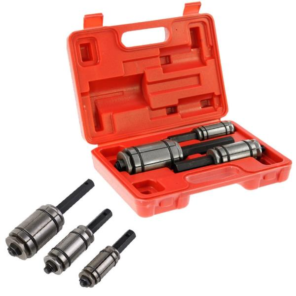 3PCS Tail Muffler Exhaust Pipe Expander 1.125/'/' to 3.5/'/' Tool Set
