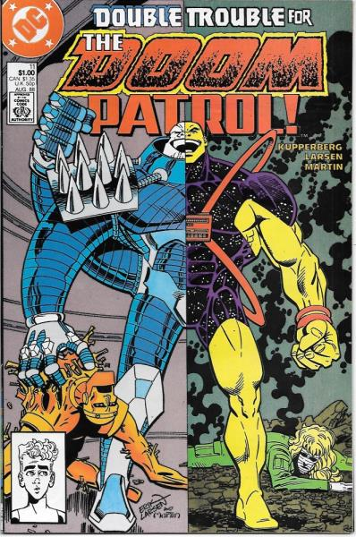 The Doom Patrol Comic Book 11 Dc Comics 1988 Very Fine Near Mint