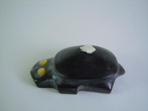 Details about  /special sale traditional Zuni one spot Baby Turtle fetish carving Gaby Concho 43