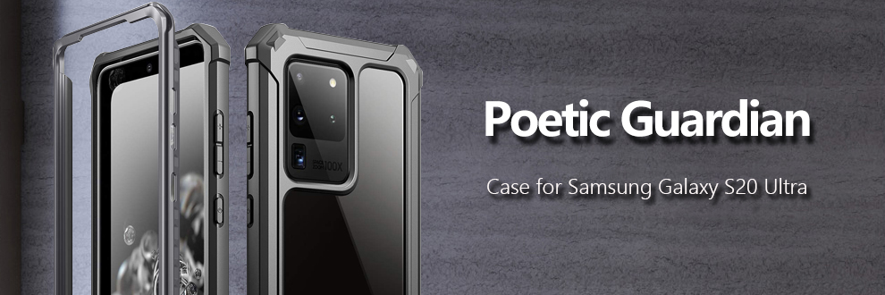 Details about Galaxy S20 Ultra,S20 Plus,S20 Case,Poetic Hybrid Shockproof Bumper Cover