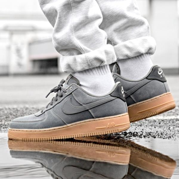Details about Nike Air Force 1 Hi 07 LV8 Sneaker Grey Gum Size 7 12 Mens Shoes AQ0117 001 Kaws