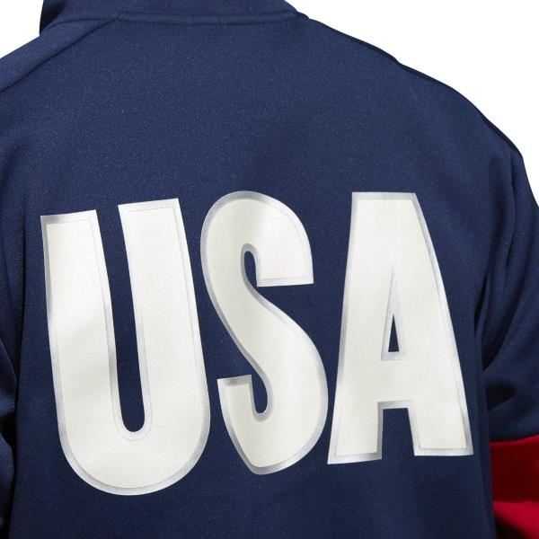 Details about [CF1418] Mens Adidas USA Volleyball Jacket 14 Zip