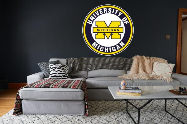 Incredible Details About Michigan Wolverines Yellow Circle Logo Vinyl Decal Sticker 10 Sizes Gmtry Best Dining Table And Chair Ideas Images Gmtryco
