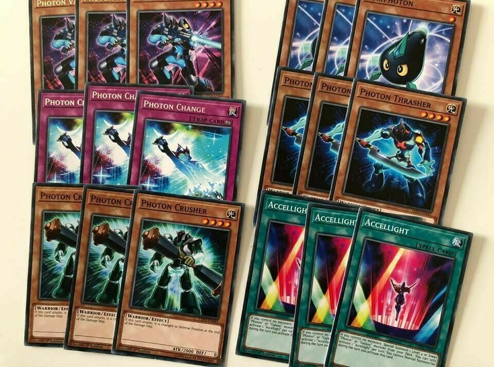 Photon Deck Set 1 w// Vanisher//Change//Crusher//Kuriphoton Yu-Gi-Oh!