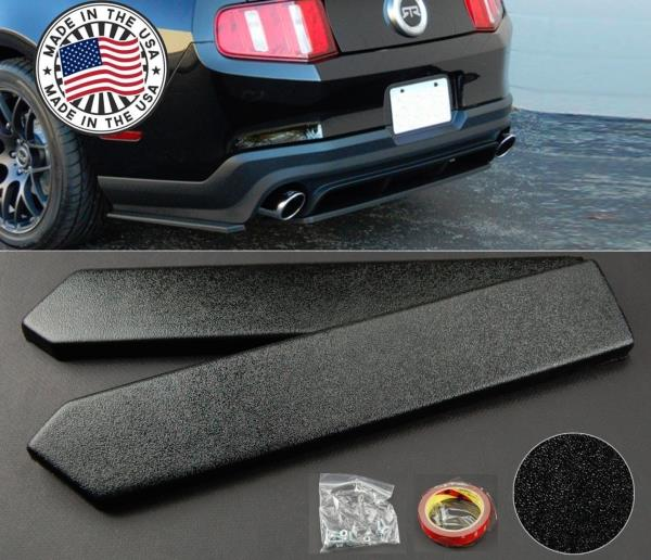 """15/"""" Rear Side Bumper Lip Skirts Apron Splitter Diffuser Valence Spats For   BMW"""