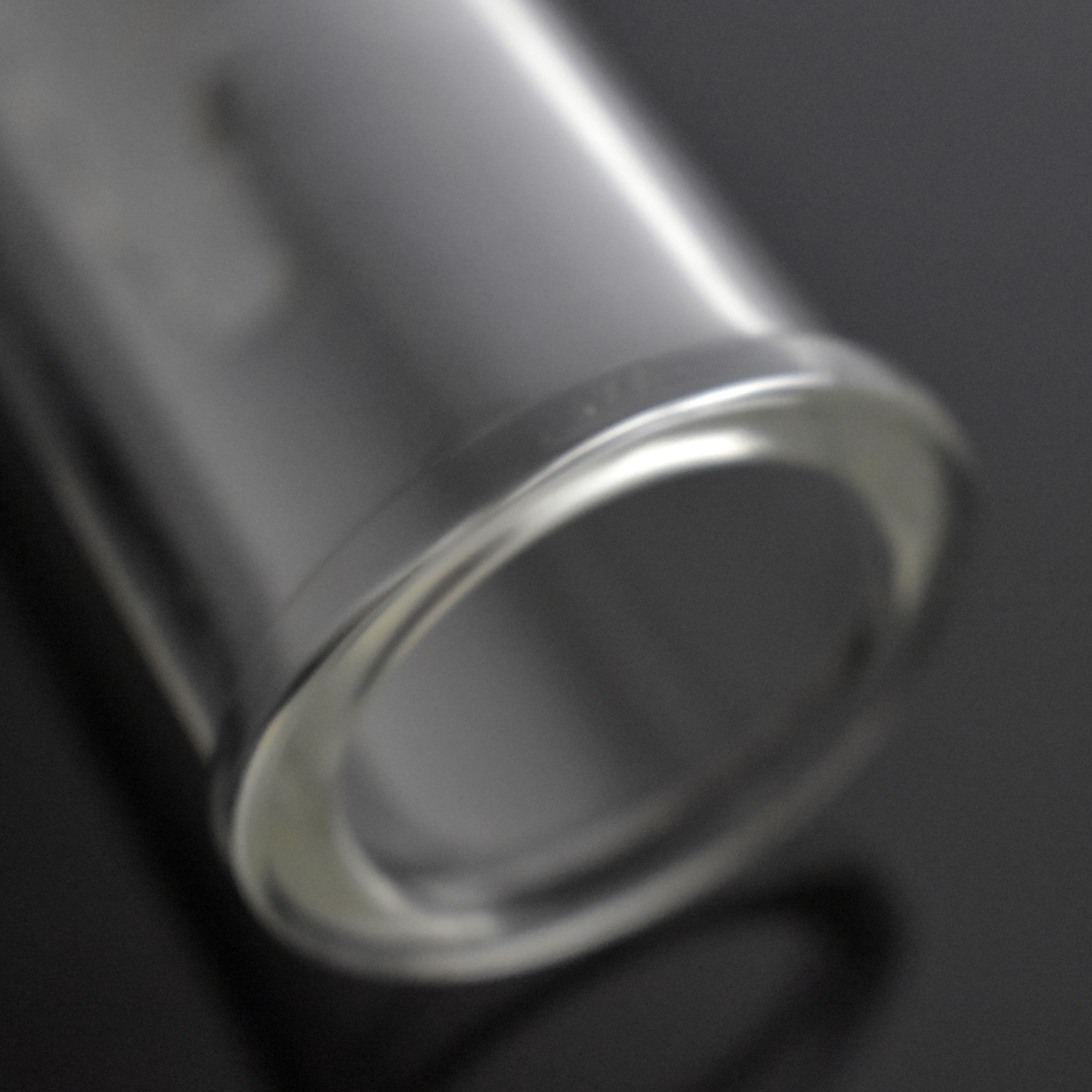 Glass Extractor Extraction Filter Tube 12 Long 50mm Diameter Clear with Stainless Steel Clamp