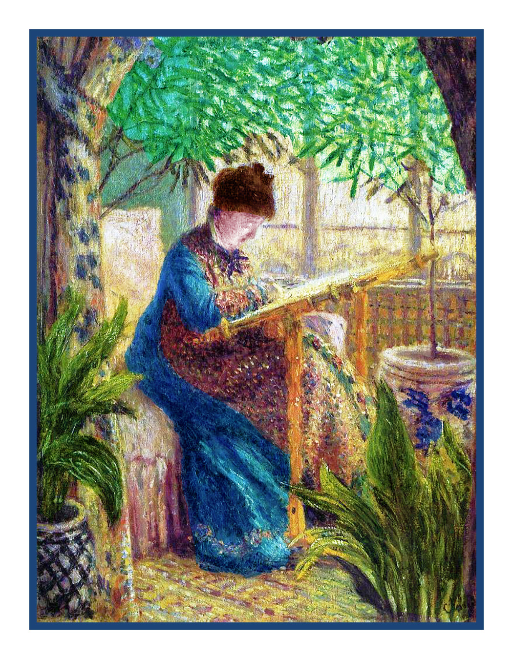 Pamela Colebourn/'s Fairy Colorful Spring Morning Counted Cross Stitch Pattern