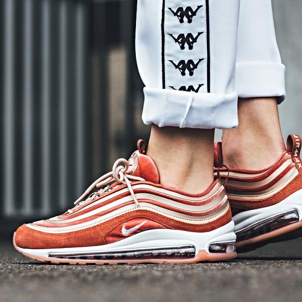 Details about Nike Air Max 97 UL '17 LX Sneakers Dusty Peach Size 6 7 8 9 Womens Shoes New