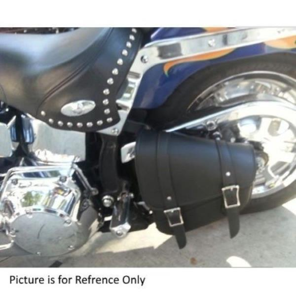 LEFT & RIGHT SIDED WATERPROOF MOTORCYCLE SOLO BAG SWING ARM FOR HARLEY – DVAL