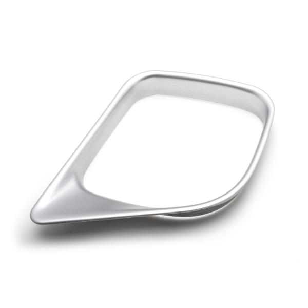 Interior Cover Trim Water Cup Holder Chrome for Toyota RAV4 16-18 Position Panel