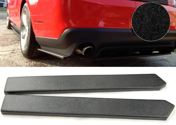 """ABS Pair 12/"""" Rear Bumper Lip Apron Splitter Diffuser Valence Skirts For  Chevy"""