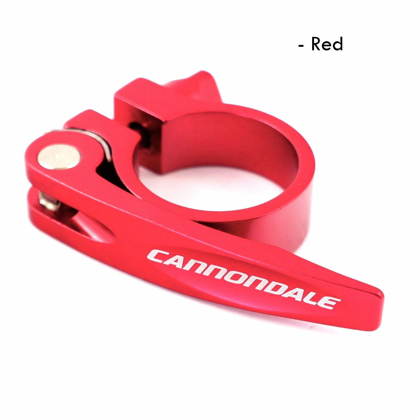 KP170//RED Cannondale Quick Release Seatpost Clamp Seatbinder 34.9mm