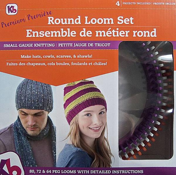 Knitting Board Premium Round Loom Set  890531001818