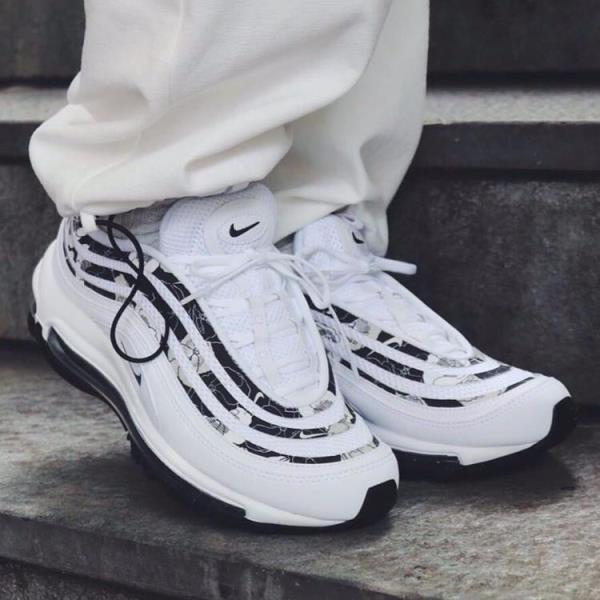 Details about Nike Air Max 97 Floral White Size 6 7 8 9 Womens Shoes Max Force Vapor Presto