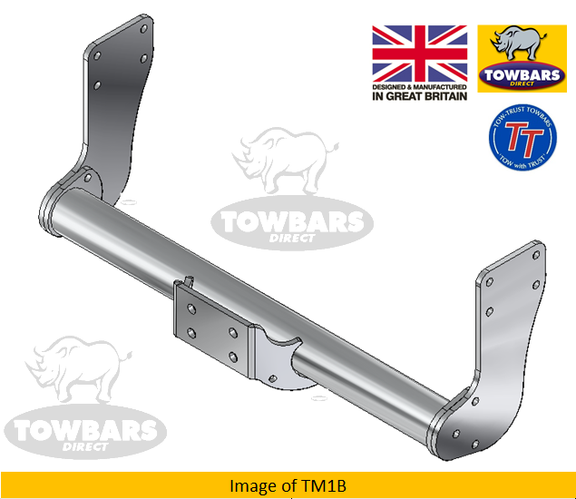 Tow-Trust Fixed Flange Ball Towbar Volkswagen Crafter   Chassis Cab 2006-2017