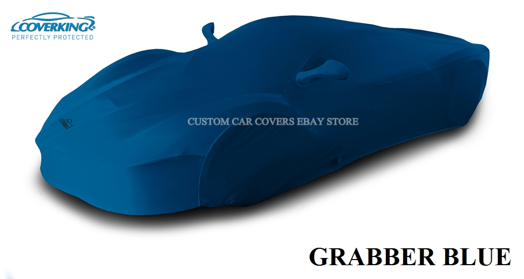 Coverking Satin Stretch Indoor Custom Car Cover for 2019 Chevy Corvette C7 ZR1