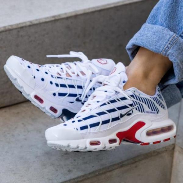 Nike Air Max Plus Tn Unit Totale White Size 6 7 8 9 Womens Shoes