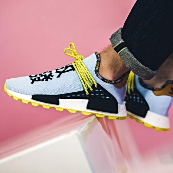 outlet online discount shop classic styles Details about Adidas Pharrell Williams Nmd Solar hu Human Race Ice Size  7-12 Mens New EE7581