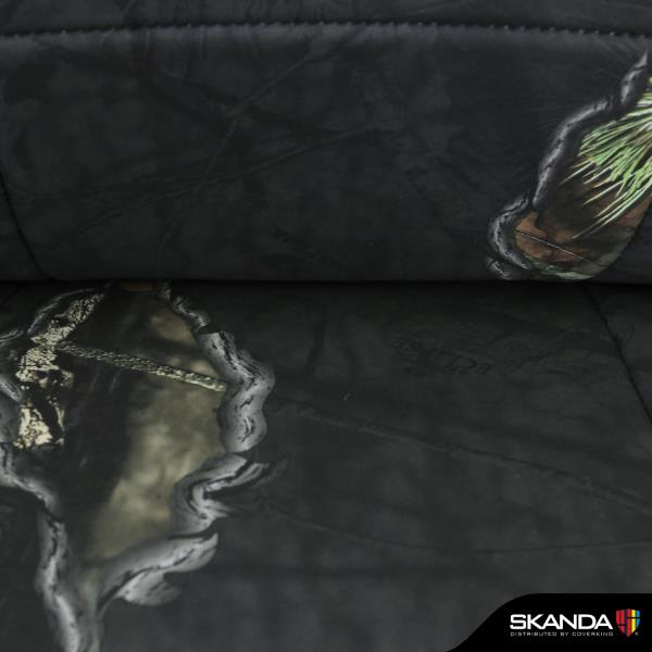 Skanda Mossy Oak Eclipse Camo Custom Fit Front Seat Covers for Chevy Avalanche