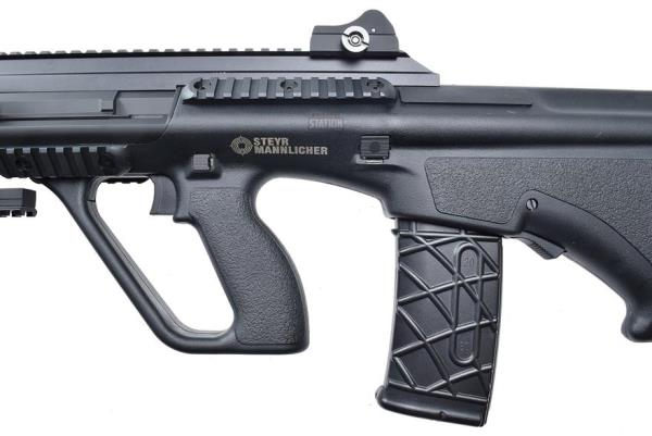 Details about Steyr Aug Commando Cqb Bullpup Airsoft Rifle With Grip &  Accessories New