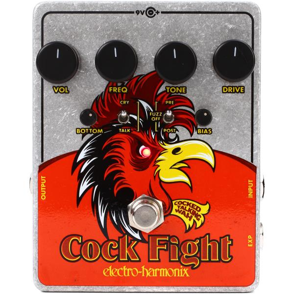 Electro-Harmonix Cock Fight Cocked Talking Wah GENTLY USED