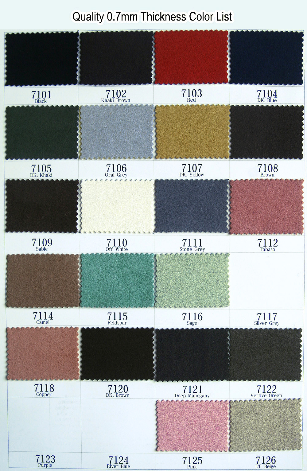 0.7MM ULTRA MICROFIBER ARTIFICIAL LEATHER NYLON CLOTH PATCH UPHOLSTERY NON FRAY