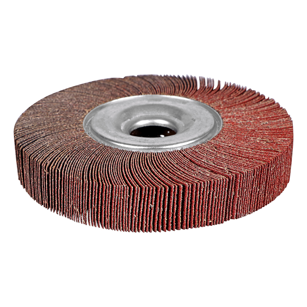 10 Pack 2 x 1 x 1//4 Shank Mounted Aluminum Oxide Flap Wheels 60 Grit