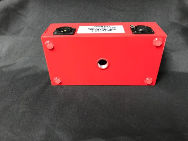 New REDCO Little Red Cue Box 4-Headphone Monitor Box w//Individual Level Control