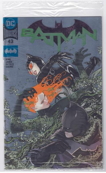 BATMAN 43 AWESOME CON EXCLUSIVE GOLD FOIL VARIANT NM