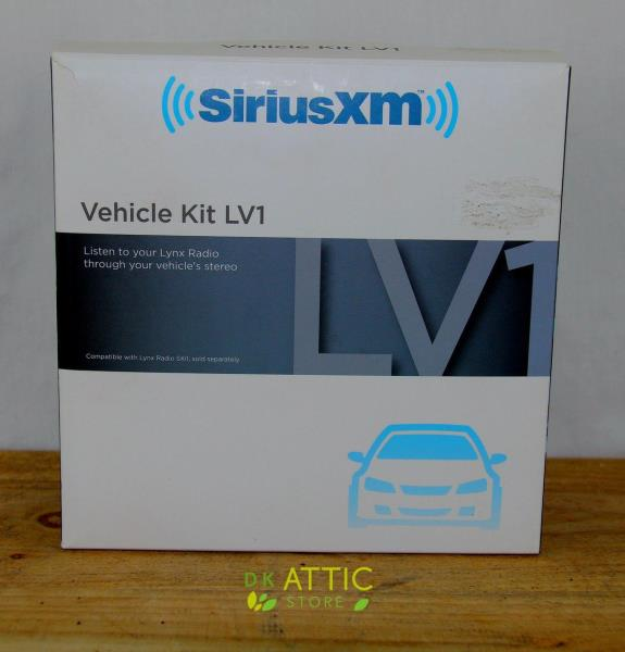 Antena,charger remot SiriusXM Lynx LV1 Vehicle Kit Model # SXV1 Include Cradle