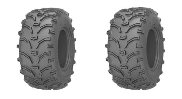 TWO NEW KENDA BEAR CLAW ATV TIRES 6 PLY 25X12-9