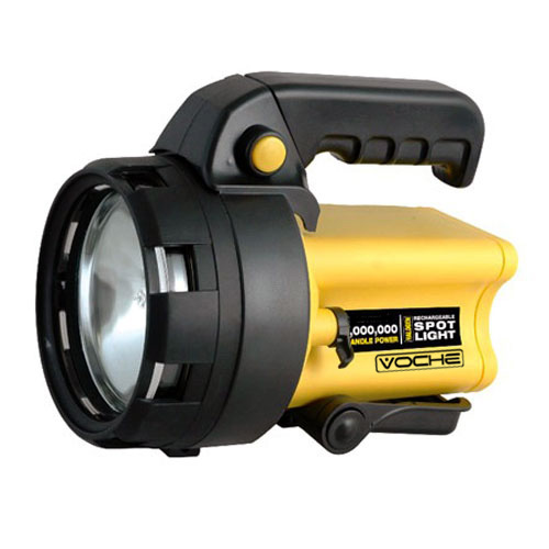 VOCHE® 3,000,000 CANDLE HIGH POWER RECHARGEABLE CORDLESS HALOGEN SPOTLIGHT TORCH