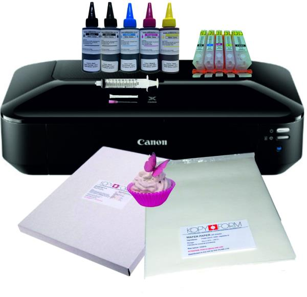 Edible Printer Bundle Includes Xl Edible Ink Cartridges Frosting Sheets Basic Recruit Package