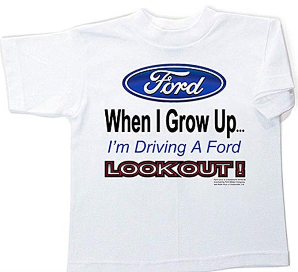 """Free Shipping FORD /""""When I Grow Up.../"""" Kids /& Toddler T-Shirt /& Onesie TOO CUTE"""