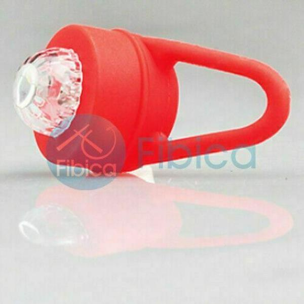 New Firex Bike Cycling Round Frog LED Front Head Rear Light Waterproof Red