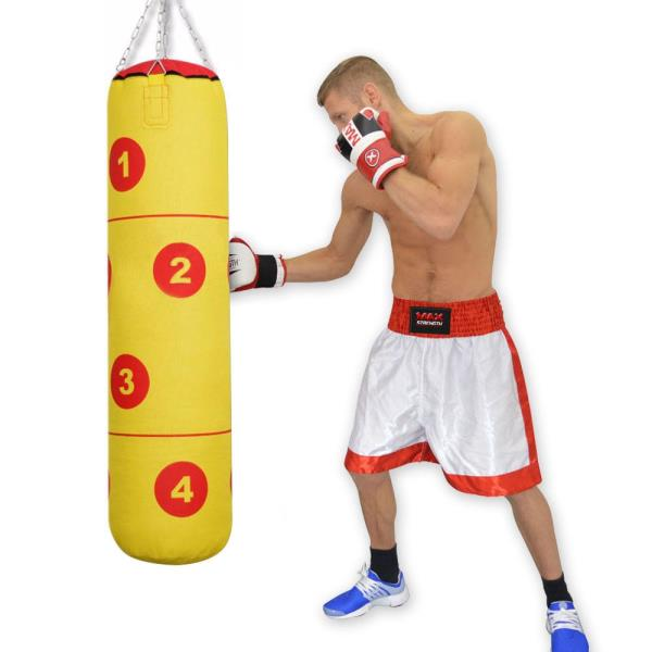 4FT UNFILLED PUNCHING BAG MMA KICK BOXING EXERCISE PUNCHING SPARRING MARTIAL ART