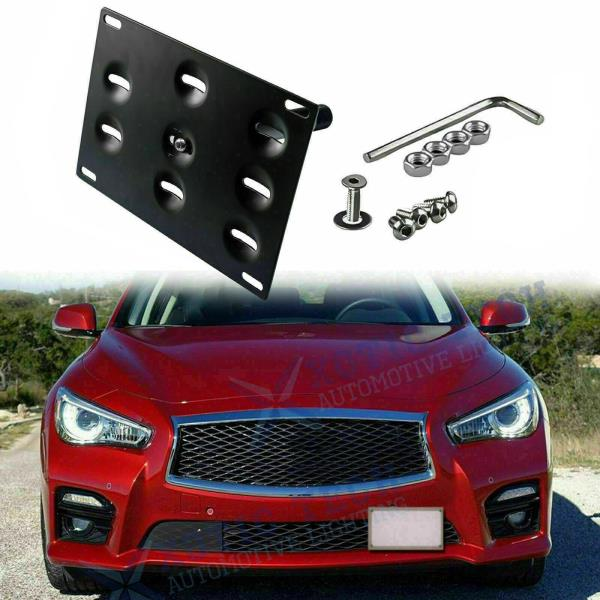 Red MG Pro-industry Heavy Duty Front /& Rear Bumper Screw on Track Racing Tow Hook for Infiniti G35 G37 Q50L Q60L