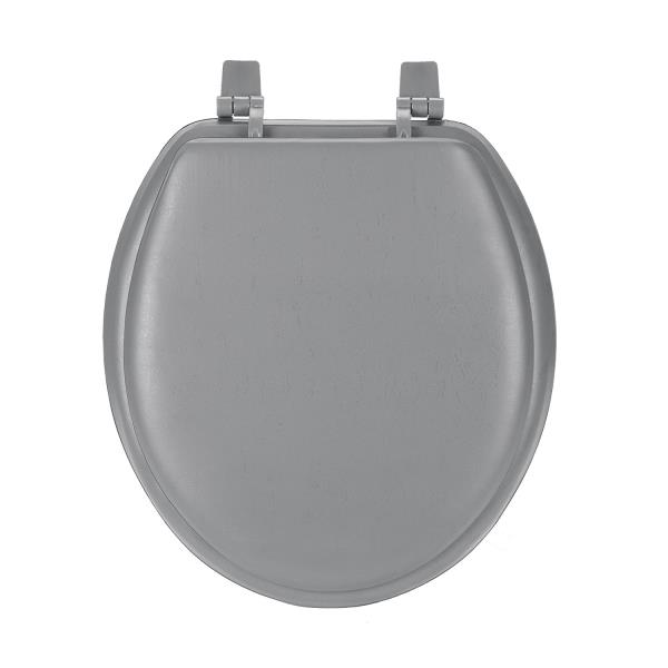 Green Soft Padded Toilet Seat Premium Cushioned Standard Round Cover Comfort