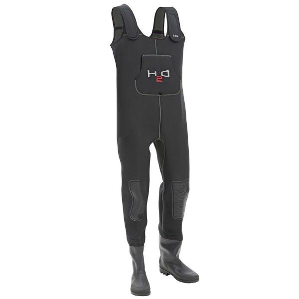 DAM H2O Chest Waders Neoprene Cleated Sole 4mm Thick All Sizes