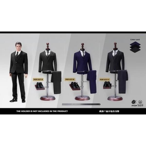 In-Stock POPTOYS 1//6 Scale XING Series X26 Western-style clothe suit